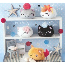 Nemuneko Plush - Nakamatachi Plush - SET - Peluche 7 cm