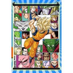 Dragon Ball Kai - Ichiban Kuji Dragonball Thank You 30th ann. Prize Lot B - Son Gokou Super Saiyan - Poster - Wall Scrol