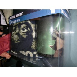 Star Wars - Yoda Gift Set - Mug + T-Shirt TAGLIA L + Lapel Pin