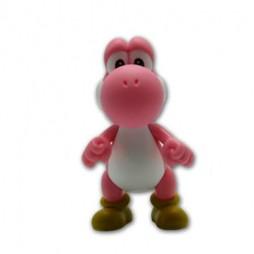 Super Mario - Mini Vynil Figure - Yoshi Rosa