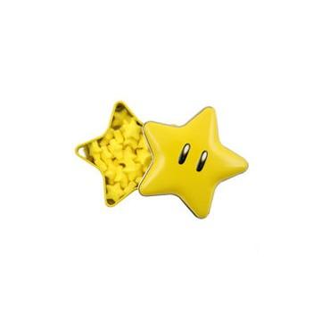 Super Mario - Tin BonBon BOX - Contenitore Per Caramelle in Latta -- Super Star