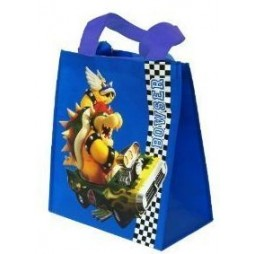 Super Mario Kart - Shopper Bag - Mario Luigi Kart / Bowser Kart