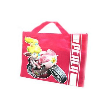 Super Mario Kart - Shopper Bag - Mario Luigi Kart / Peach On Moto
