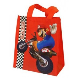 Super Mario Kart - Shopper Bag - Mario Luigi Kart / Super Mario On Moto