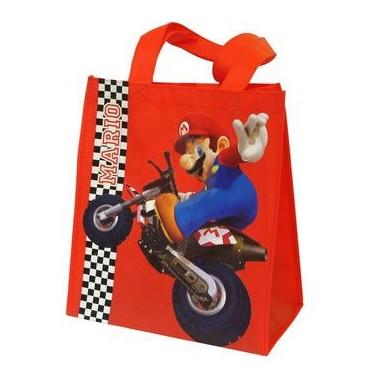 Super Mario Kart - Shopper Bag - Mario Luigi Kart / Super Mario On Moto