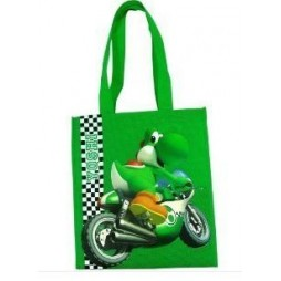Super Mario Kart - Shopper Bag - Mario Luigi Kart / Yoshi On Moto