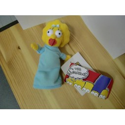 The Simpsons Plush - Peluche - Portachiavi - Simpsons Maggie - Peluche 17 cm