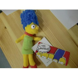 The Simpsons Plush - Peluche - Portachiavi - Simpsons Marge - Peluche 17 cm