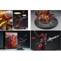 Marvel Comics - Sideshow Collectibles - Premium Format Figure - Deadpool Heat Seeker Limited 1500pcs