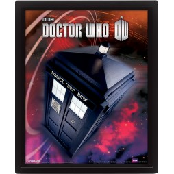 Poster 3D Lenticolare - Doctor Who - Poster - Flying Tardis