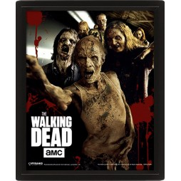 Poster 3D Lenticolare - The Walking Dead - Poster - Walkers - Vaganti
