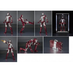 S.H. Figuarts Iron Man 2 Iron Man Mark V + Hall Of Armor SET