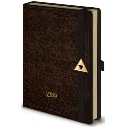 Video Games - Legend Of Zelda - Notebook - Hyrule Notebook Con Fibbia