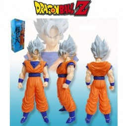 Dragon Ball Z - Big Figure - Gokou Super Saiyan Gray Hair 40 cm Figure Loose