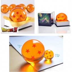 Dragon Ball Z - Sfere Del Drago - Crystal Ball - 7,6 cm Diam.- Set dalla 1 alla 7 - Sfera Numero 4