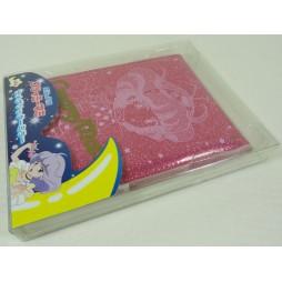 Mahou no Tenshi Creamy Mami - Specchio Trucco Da Tavolo (richiudibile da viaggio) - Rosa Glitter Creamy Face