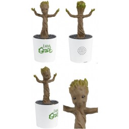 Marvel Comics - Voice Activated Dancing Figure - Guardians Of The Galaxy - Groot - Pyramid