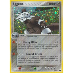 Pokemon - Carte - Aggron Legend Maker Set (Holo)