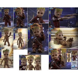Guardians Of The Galaxy 2 Movie Masterpiece Action Figure Life Size - Groot