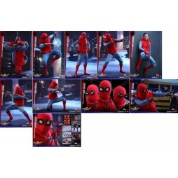 Spider-Man Homecoming Movie Masterpiece Action Figure 1/6 - Spider-Man Home Made Suit