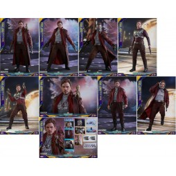 Guardians Of The Galaxy 2 Movie Masterpiece Action Figure 1/6 - Star Lord Deluxe Version