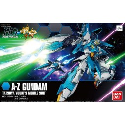 HG BUILD FIGHTERS - A-Z GUNDAM - TATSUYA YUUKI\'S MOBILE SUIT 1/144