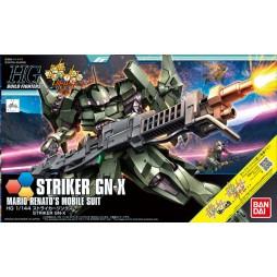 HG BUILD FIGHTERS 065 - STRIKER GN-X - MARIO RENATO\'S MOBILE SUIT 1/144