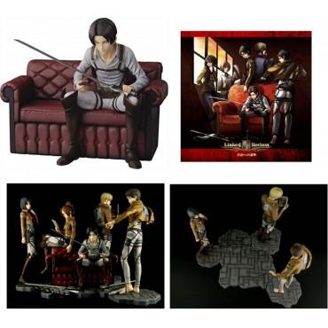 Attack on Titan - L\'Attacco dei Giganti - Ichiban Kuji Shingeki no Kyojin - Jiyu e no Shingeki - Prize B Figure Levi Riv