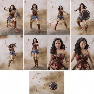 S.H. Figuarts Justice League Wonder Woman Action Figure
