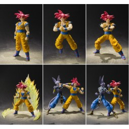 S.H. Figuarts Dragon Ball Super: Son Gokou SSJ God Tamashi Web Exclusive