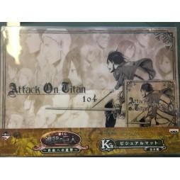 Attack on Titan - L\'Attacco dei Giganti - Ichiban Kuji Shingeki no Kyojin - Jiyu e no Shingeki - Prize K - Eren Yaeger 1