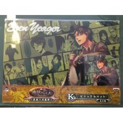 Attack on Titan - L\'Attacco dei Giganti - Ichiban Kuji Shingeki no Kyojin - Jiyu e no Shingeki - Prize K - Eren Yaeger C