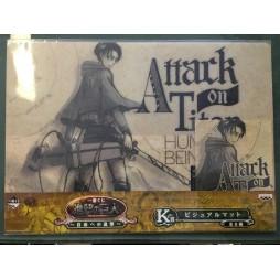 Attack on Titan - L\'Attacco dei Giganti - Ichiban Kuji Shingeki no Kyojin - Jiyu e no Shingeki - Prize K - Levi Rivalle