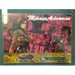 Attack on Titan - L\'Attacco dei Giganti - Ichiban Kuji Shingeki no Kyojin - Jiyu e no Shingeki - Prize K - Mikasa Ackerm