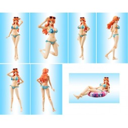 MegaHouse - Variable Action Heroes - One Piece - Nami Summer Vacation - Action Figure