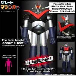 Great Mazinger - Grande Mazinga - Body for Metal Action No. 02 Brain Condor LIMITED - Evolution Toys