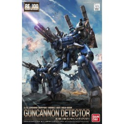Gundam RE/100 008 - E.F.F. GROUND SUPPORT MOBILE SUIT MSA-005K GUNCANNON DETECTOR 1/100