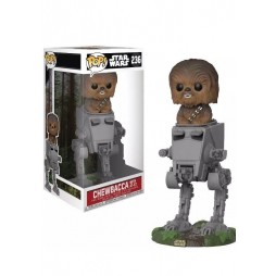 Star Wars POP! - 236 - Chewbacca ROTJ Vers. With AT-ST Vinyl Bobble-Head Figure