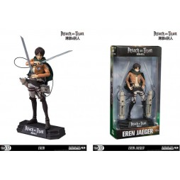 Attack on Titan - L\'Attacco dei Giganti - Color Tops - Action Figure Eren Yaeger