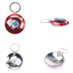 Marvel Comics - Keyring - 3D Metal - Civil War - Captain America Coloured Shield
