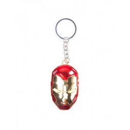 Marvel Comics - Keyring - 3D Metal - Civil War - Iron Man Coloured Helmet