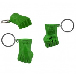 Marvel Comics - Keyring - 3D Metal - Hulk Fist Coloured Helmet