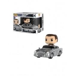 POP! Rides 44 James Bond Sean Connery With Aston Martin Deformed Vinyl Figure