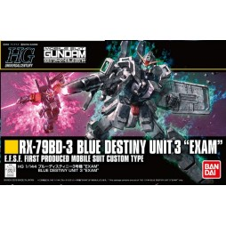 HG Universal Century 209 - HGUC - RX-79BD-3 Blue Destiny Unit 3 Exam - Side Story The Blue Destiny - E.S.F.S. First Pr