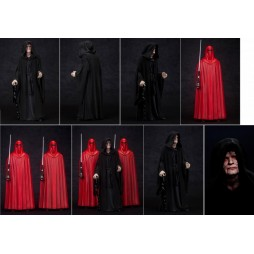 Star Wars - EP. VI R.O.T.J. - ArtFX + 3 pack 1/10 scale Statue - Emperor Palpatine & Royal Guards