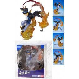 One Piece - Figuarts Zero - Brother's Bond - Extra Battle - Sabo Fire Fist - Fugure Diorama