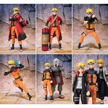S.H. Figuarts Naruto: Naruto Uzumaki Sage Mode Advanced Version Action Figure - Tamashii Web Exclusive