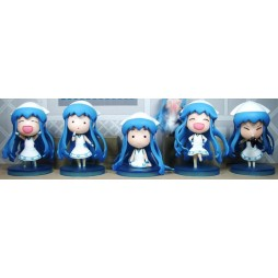 The Invader Comes From the Bottom of the Sea - Minikko Shinryaku! - Petit Chara Prize Figure - Ika Musume Squid Girl -