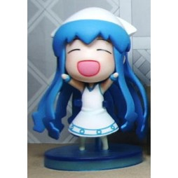 The Invader Comes From the Bottom of the Sea - Minikko Shinryaku! - Petit Chara Prize Figure - Ika Musume Squid Girl 01