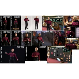 Star Trek - Star Trek the Next Generation TV Series - Captain Jean-Luc Picard Kirk - 1:6 Scale - Action Figure